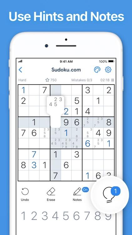 Sudoku.com - Sudoku Puzzle screenshot-6