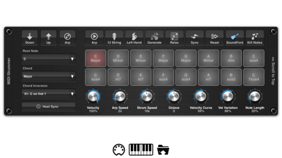 MIDI Strummer AUv3 Plugin screenshot 2
