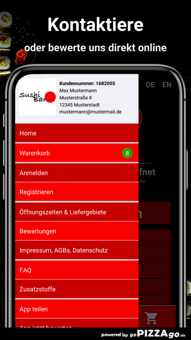 Sushi Bar Münster screenshot 3