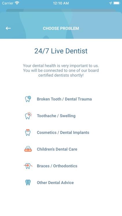 Denteractive 24/7 Live Dentist screenshot-4