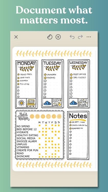 Zinnia Journal & Planner screenshot-0