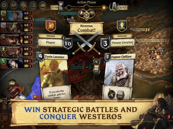 A Game of Thrones: Board Game screenshot 10