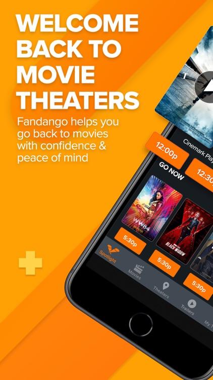 Fandango Movie Tickets & Times screenshot-0