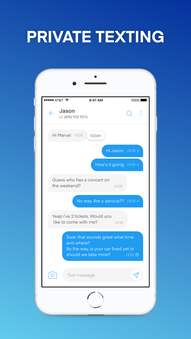 Text Vault - Texting App Screenshot