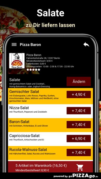 Baron Berlin Pizza screenshot 5