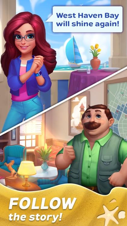 Match Town Makeover: Design 3d screenshot-4