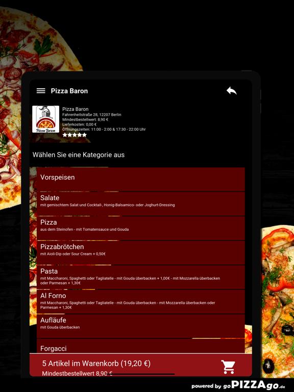 Baron Berlin Pizza screenshot 8