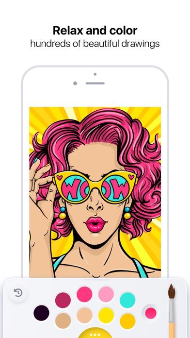 Pro Color - Art Coloring Book Screenshot