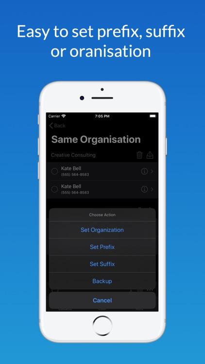 Contact Manager + screenshot-4
