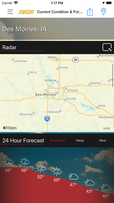 messages.download ISCN Weather software