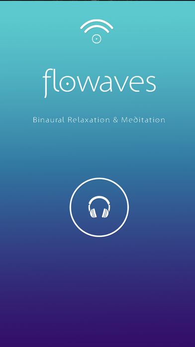 Flowaves: Binaural beats screenshot 1