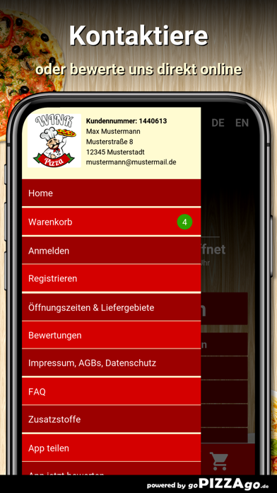 Wink Pizza Leipzig screenshot 3