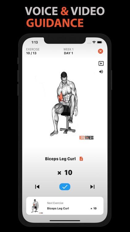 Home Workout for Men & Women screenshot-5