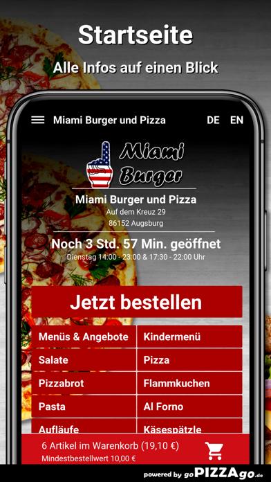 Miami Burger Augsburg screenshot 2