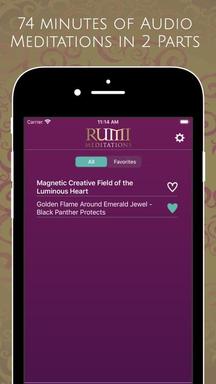 Rumi Meditations screenshot-3