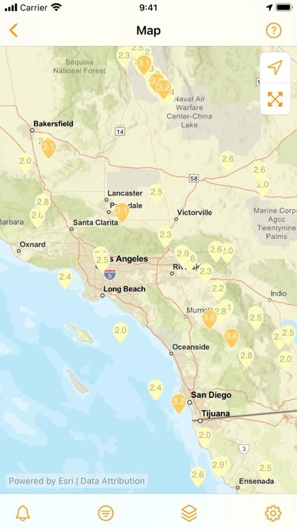 QuakeFeed Earthquake Alerts screenshot-4