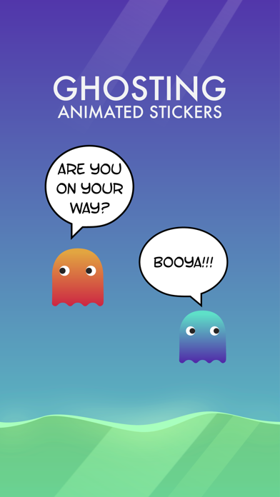Ghosting Animated Stickers screenshot #1