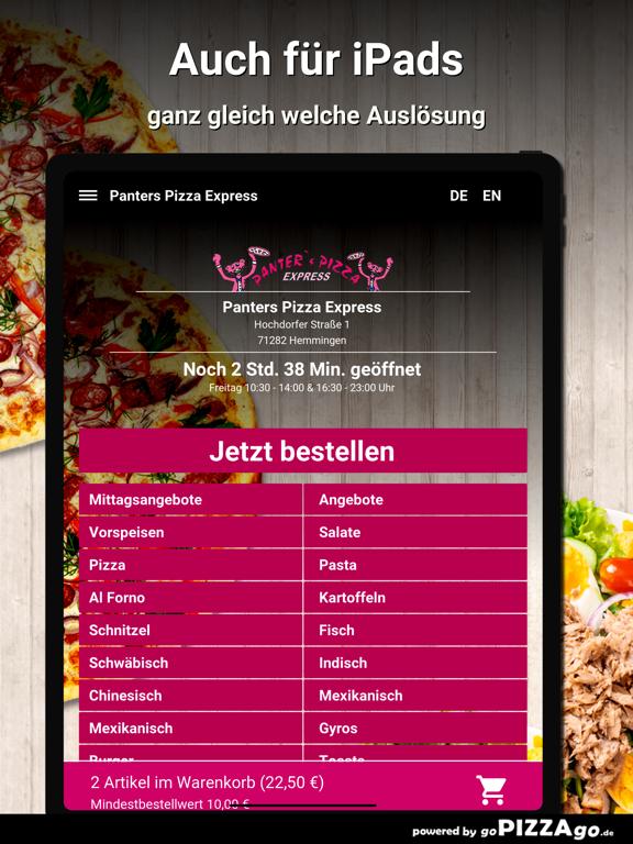 Panters Pizza Hemmingen screenshot 7