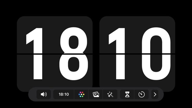 Nightstand clock & Flip clock screenshot-0