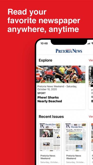 Pretoria News WeekendScreenshot of 2