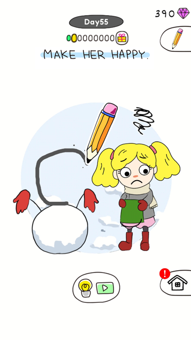 Draw Happy Puzzle screenshot 3