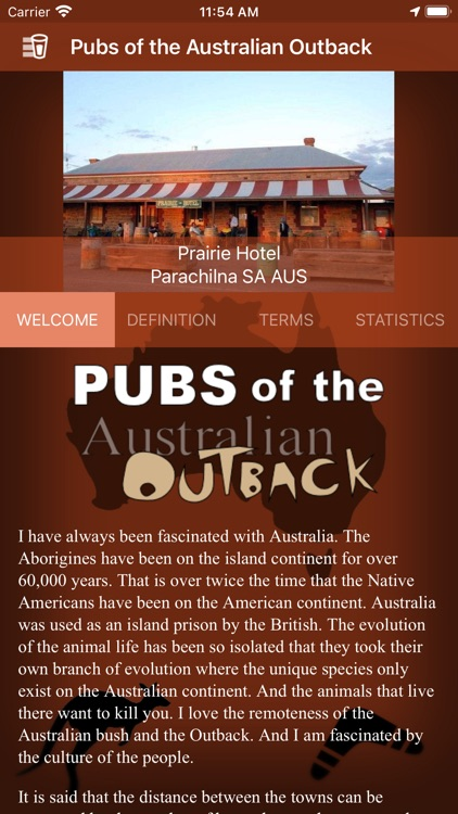 Pubs of the Australian Outback