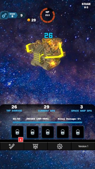 Idle Sci-Fi Battle screenshot 2