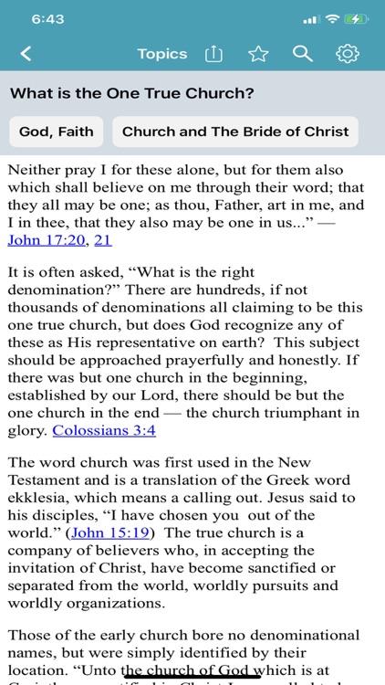 Bible Questions & Answers -FAQ screenshot-3