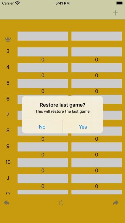 FiveCrowns Scorekeeping App screenshot-5
