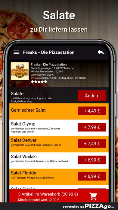 Freaks Pizza München screenshot 5