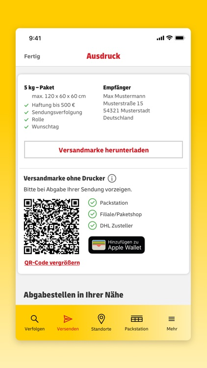 DHL Paket screenshot-4