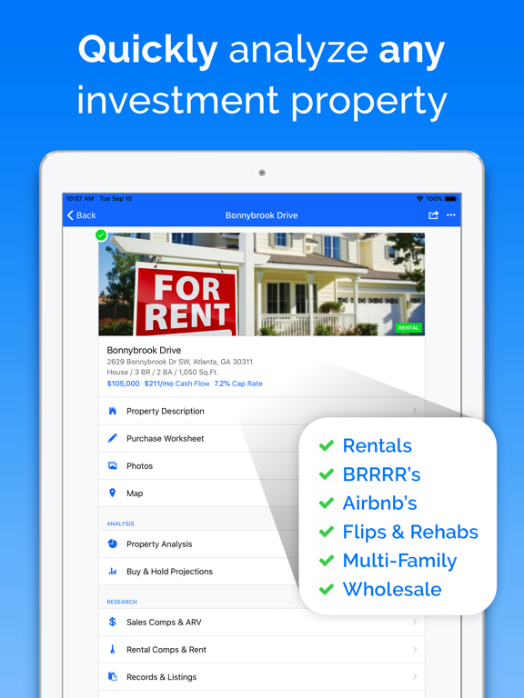 DealCheck - Real Estate Investing Calculator screenshot