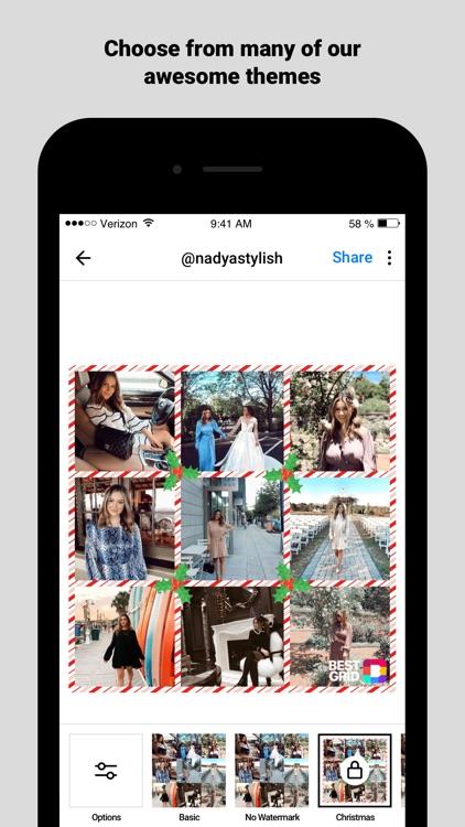 Best Grid for Instagram screenshot-3