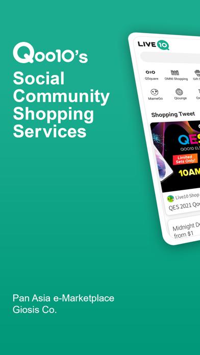 Live10 - Social Shopping ScreenShot0