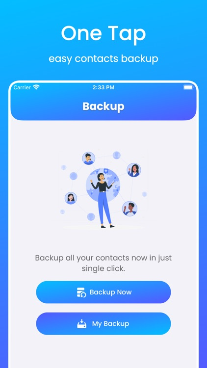 MCBackup Pro - Contacts Backup