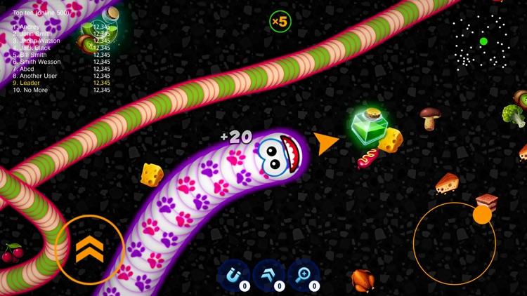WormsZone.io - Hungry Snake screenshot-0