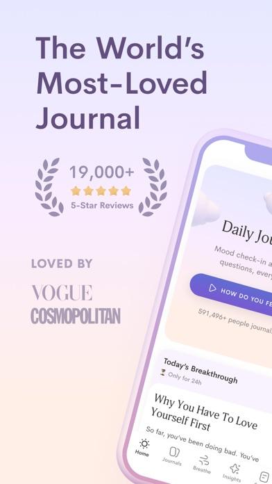 Jour: Daily Self-Care Journalのおすすめ画像1