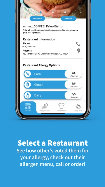Food Allergy Dining: MacroMenu screenshot-6