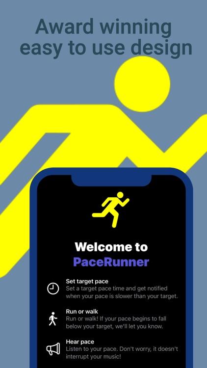 PaceRunner: Run at your pace screenshot-3