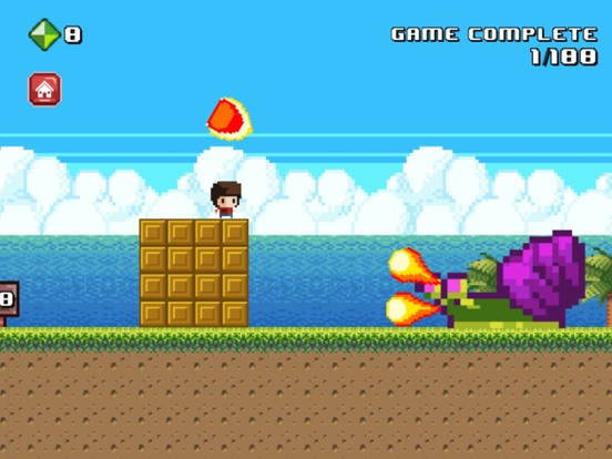8 Bit Kid - Jumping World screenshot 6