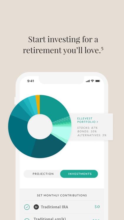 Ellevest: Invest, Bank, Career screenshot-9