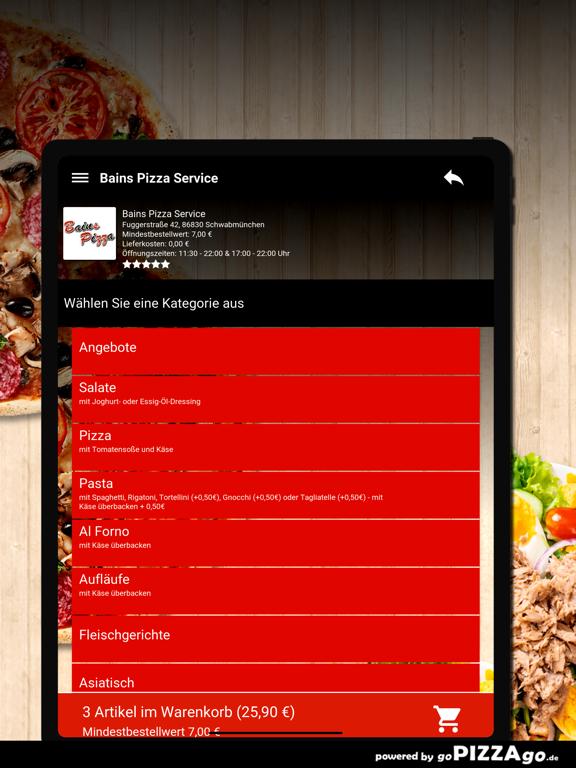 Bains Pizza Schwabmünchen screenshot 7