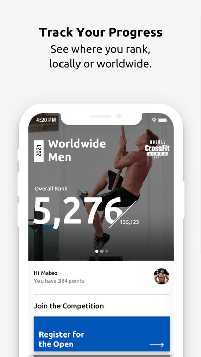 CrossFit Games screenshot