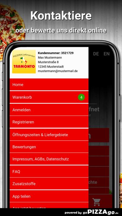 Ristorante Tramonto Kelkheim screenshot 3