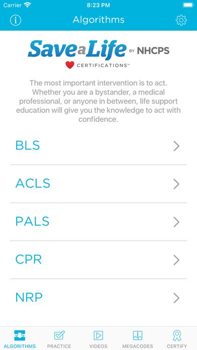 MediCode- ACLS, PALS, BLS, CPRScreenshot of 1