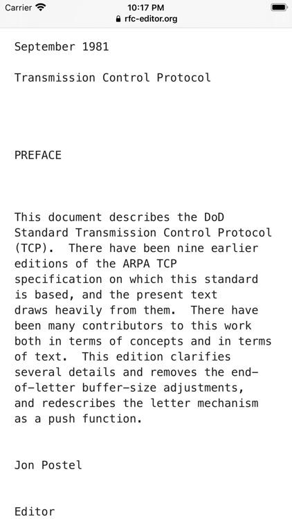 RFC View screenshot-3