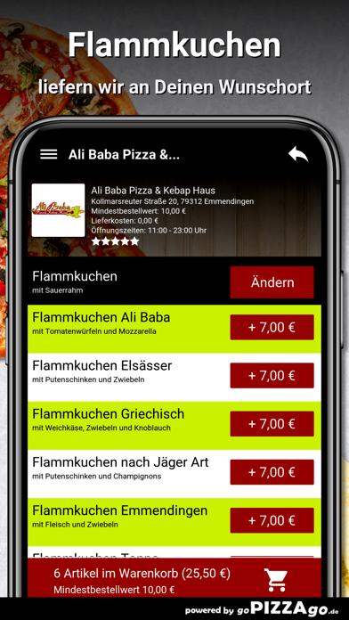 Ali Baba Pizza Emmendingen screenshot 6
