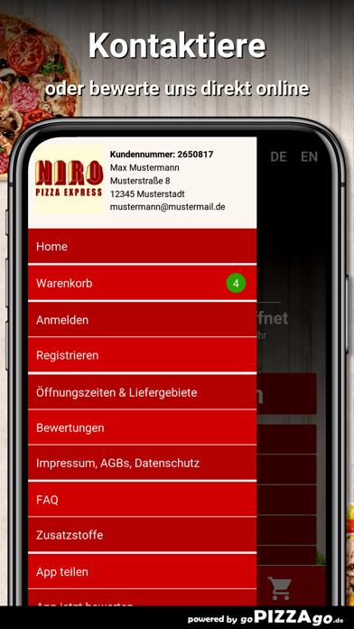 Niro Pizzaexpress Oberhausen screenshot 3