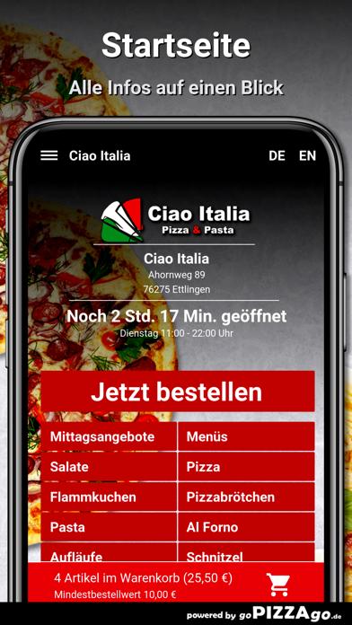 Ciao Italia Ettlingen screenshot 2