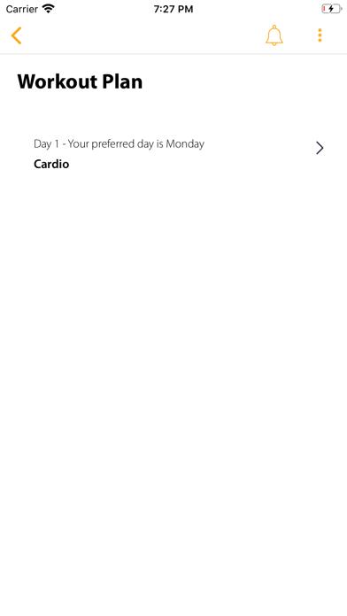 Your Digital Trainer screenshot 1